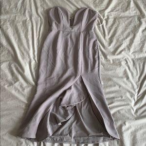 Corseted Midi Dress